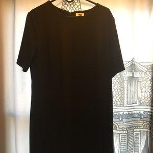 Black Straight line dress NWT